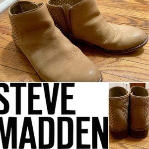 Tan Steve Madden 'Beverly' Booties